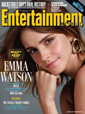 Emma Watson covers Entertainment Weekly (February 2017)