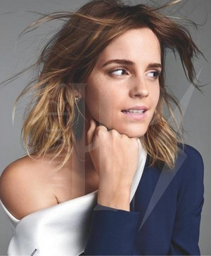 Emma Watson for Entertainment Weekly by Kerry Hallihan (March 2017)