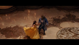 Emma Watson in Beauty and the Beast (2017) New scenes