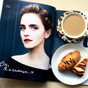 Emma Watson in Hollywood Reporter Russia