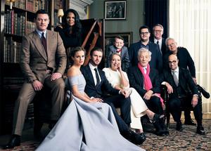Emma and BATB cast Vanity Fair photoshoot