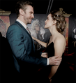 Emma and Dan Stevens at World Premiere of BATB in L.A. - beauty-and-the-beast-2017 photo