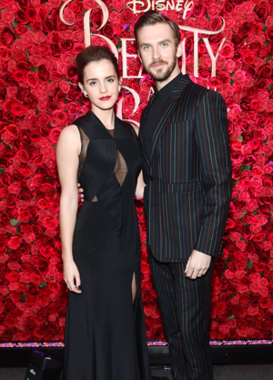 Emma and Dan at NY screening of Beauty and the Beast