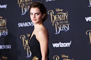 Emma at World Premiere of BATB in L.A.
