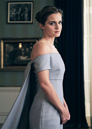 """Emma,the """"Belle"""" of the ball at BATB UK launch event"""