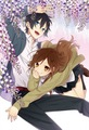Enjoying the flowers together <3 - horimiya-manga photo