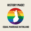Equal Marriage in Finland - lgbt fan art