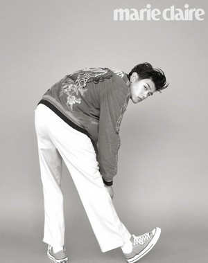 Eric Nam has a playful photoshoot with 'Marie Claire'