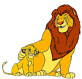 Father and son clipart  - the-lion-king photo