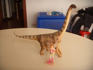 Flora e l'argentinosauro