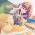 Futaba x kou - anime photo