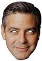 George Clooney mask george clooney 18667444 - george-clooney photo