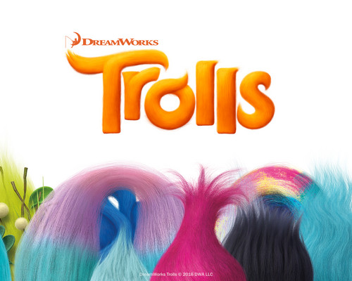 DreamWorks Trolls fondo de pantalla titled Hair Up