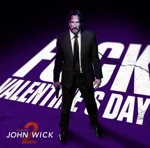 Happy Valentine's giorno from John Wick!