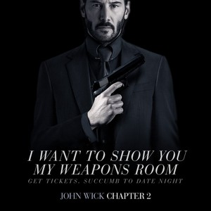 Happy Valentine's день from John Wick!