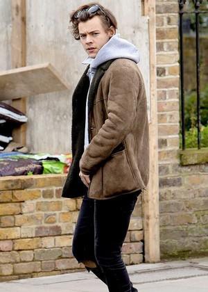 Harry in Лондон recently