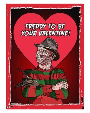 Horror Valentines - A Nightmare On Elm Street