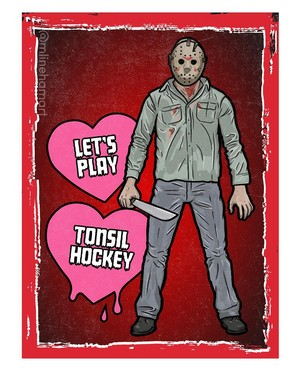 Horror Valentines - Friday the 13th