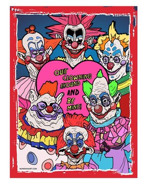 Horror Valentines - Killer Clowns From Outer মহাকাশ