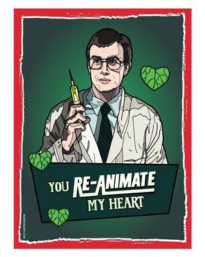 Horror Valentines - Re- Animator