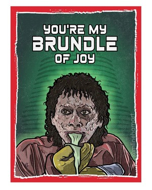 Horror Valentines - The Fly
