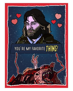 Horror Valentines - The Thing