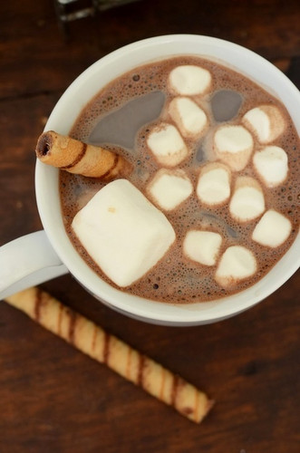 Christmas wallpaper entitled Hot Chocolate