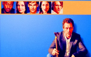 House MD DVD Cover Обои