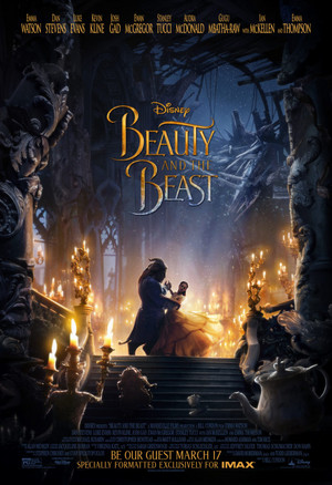 Disney's Beauty and the Beast (2017) Poster