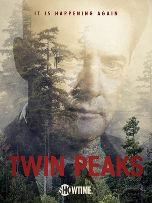 It Is Happening Again – Official Twin Peaks Poster: Dale Cooper