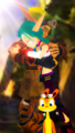 Jak 3 Happy Ending Keira Hagai Love Jak with Daxter..  png - jak-and-daxter photo