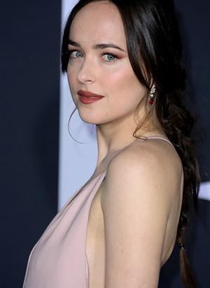 Jamie Dornan and Dakota Johnson attend the premiere of ' 'Fifty Shades Darker'