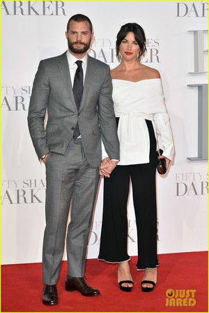 Jamie Dornan and  Wife Amelia Warner Look So In Love at 'Fifty Shades Darker' London Premiere!
