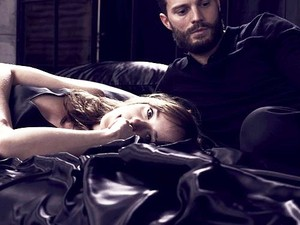 Jamie and Dakota Fifty Shades Darker promo تصویر outtake