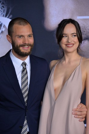 Jamie and Dakota at Fifty Shades Darker premiere in L.A.