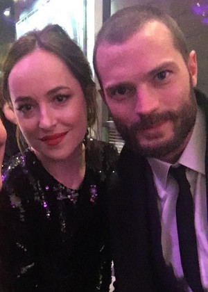 Jamie and Dakota at Germany premiere for Fifty Shades Darker