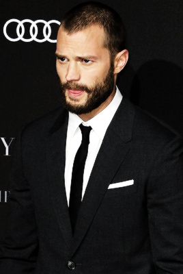 Jamie at the Fifty Shades Darker Germany premiere