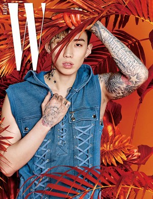 jay Park is full of raw masculinity for 'W'