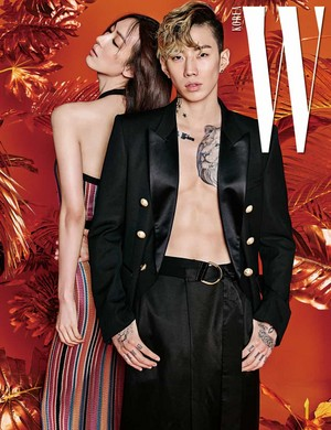 ghiandaia, jay Park is full of raw masculinity for 'W'