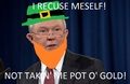 Jeff Sessions I Recuse Meself - random fan art
