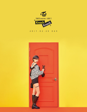 "Jeongyeon's Individual Teaser Image for ""Knock Knock''"