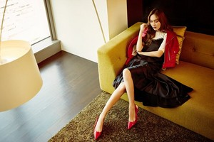 Jessica for 'Marie Claire Taiwan'