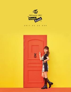 """Jihyo's Individual Teaser Image for """"Knock Knock''"""