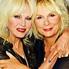 Joanna Lumley and Jennifer Saunders iconos