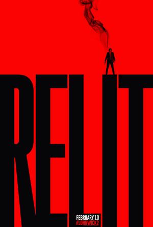 John Wick: Chapter 2 Relit Poster