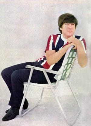 John wears the Union Jack Flag