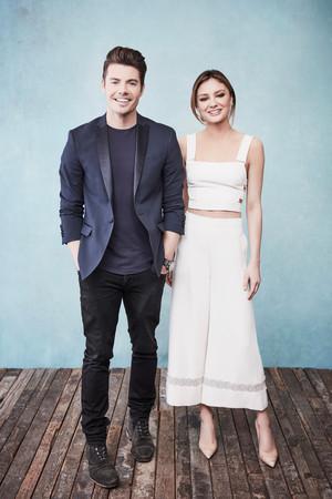 Josh Henderson and Christine Evangelista ♡ 2017 Portrait