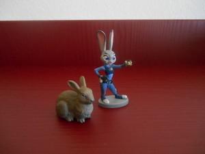 Judy Hopps e il coniglio