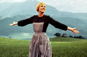 Julie Andrews as Maria