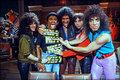 KISS w/J.J. Jackson (NYC) September 18, 1983 (Unmasked MTV) - kiss photo